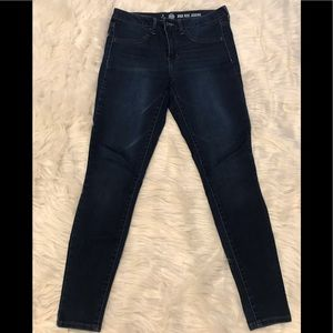 High rise jean jegging